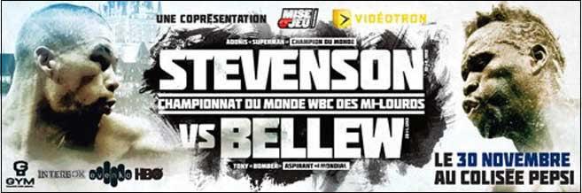 Adonis Stevenson vs Tony Bellew